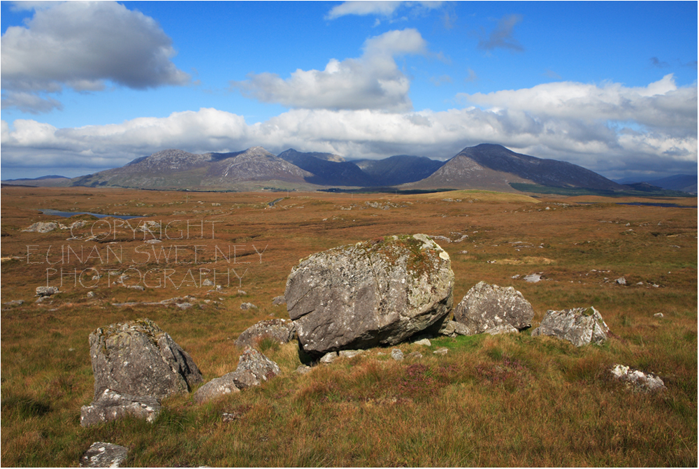 The  Twelve  Bens.  Connemara . Co. Galway